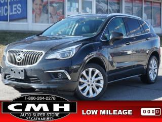Used 2017 Buick Envision Premium I  NAV CAM LEATH HTD-SEATS 19-AL for sale in St. Catharines, ON