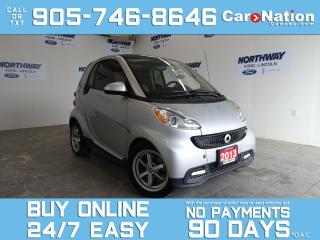 Used 2013 Smart fortwo SUNROOF | NAV | HEATED SEATS | ONLY 51 KM! for sale in Brantford, ON