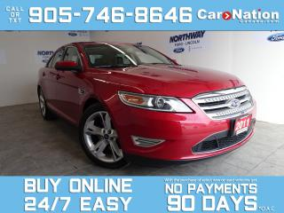 Used 2011 Ford Taurus SHO | AWD | ROOF | NAV | ADAPTIVE CRUISE | 47 KM! for sale in Brantford, ON