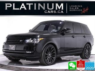 Used 2016 Land Rover Range Rover SUPERCHARGED 510HP, V8, NAV, CAM, HEATED SEATS for sale in Toronto, ON