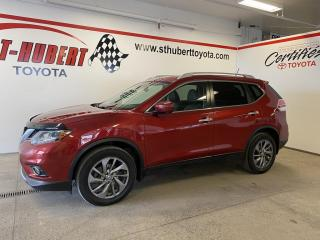 Used 2016 Nissan Rogue AWD SL, TOIT PANO, NAV/GPS for sale in St-Hubert, QC