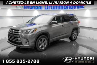 Used 2018 Toyota Highlander LIMITED AWD + GARANTIE + NAVI + TOIT + W for sale in Drummondville, QC