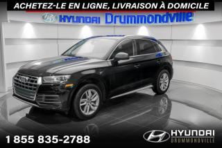 Used 2018 Audi Q5 QUATTRO + GARANTIE + CAMERA + CUIR + WOW for sale in Drummondville, QC