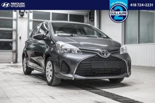 Used 2015 Toyota Yaris LE chez Rimouski Hyundai for sale in Rimouski, QC