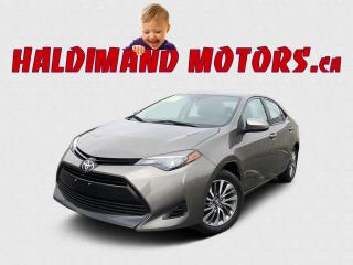 Used 2018 Toyota Corolla XLE for sale in Cayuga, ON