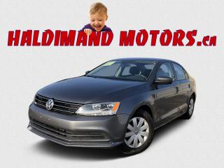 Used 2017 Volkswagen Jetta Trendline for sale in Cayuga, ON