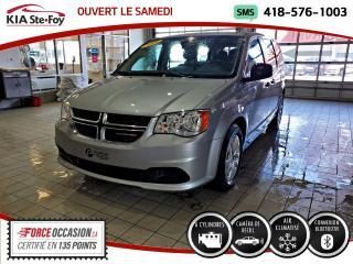 Used 2018 Dodge Grand Caravan SE* CAMERA DE RECUL* BLUETOOTH* JAMAIS A for sale in Québec, QC