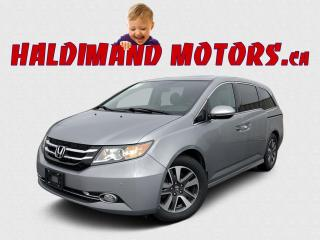 Used 2016 Honda Odyssey Touring for sale in Cayuga, ON