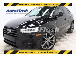 Used 2017 Audi Q3 *Technik *BLACK-OPTICS *SPORT *S-LINE *BLIND-SPOT for sale in St-Hubert, QC