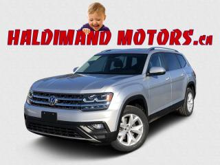 Used 2018 VW ATLAS COMFORLTINE AWD for sale in Cayuga, ON