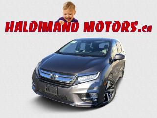 Used 2018 Honda Odyssey Touring for sale in Cayuga, ON