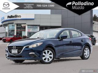 Used 2016 Mazda MAZDA3 GX - NO ACCIDENTS - TIRES LIKE NEW for sale in Sudbury, ON