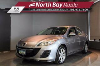 Used 2010 Mazda MAZDA3 GS CERTIFIED - Low Mileage! - Automatic Transmission for sale in North Bay, ON
