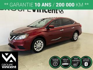 Used 2017 Nissan Sentra SV TOIT MAGS ** GARANTIE 10 ANS ** Berline fiable, logeable et économique! for sale in Shawinigan, QC
