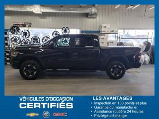 Used 2019 RAM 1500 REBEL NAV+CUIRE for sale in Amos, QC