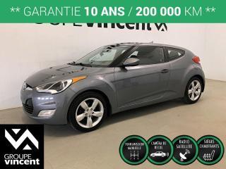 Used 2015 Hyundai Veloster SE ** GARANTIE 10 ANS ** Offrez-vous un véhicule au look exclusif! for sale in Shawinigan, QC