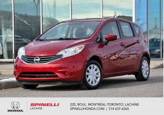 Used 2015 Nissan Versa Note SV BAS KM AUTO AC BLUETOOTH CAM RECUL++ for sale in Lachine, QC