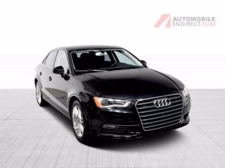 Used 2015 Audi A3 Progressiv 2.0T Quattro Cuir GPS Toit Caméra for sale in Île-Perrot, QC