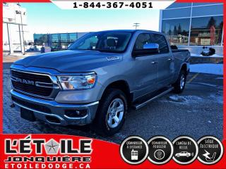 Used 2019 RAM 1500 Big Horn cabine d'équipe 4x4 V6 for sale in Jonquière, QC