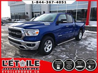 Used 2019 RAM 1500 Big Horn Quad Cab 4x4 V6 for sale in Jonquière, QC