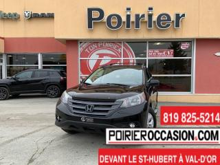 Used 2012 Honda CR-V Touring BAS MILLAGES for sale in Val-D'or, QC