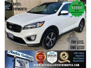 Used 2017 Kia Sorento EX* 7-Seater/Satellite Radio/ALL WHEEL DRIVE for sale in Winnipeg, MB