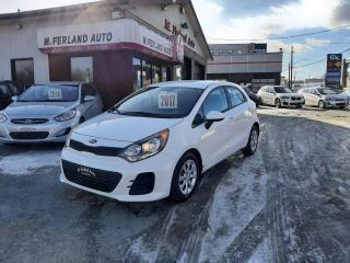 Used 2017 Kia Rio Kia Rio5 automatique LX+ for sale in Sherbrooke, QC
