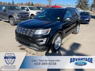 Used 2017 Ford Explorer Limited LOADED - NAV - LEATHER for sale in Calgary, AB
