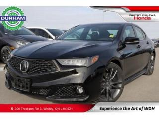 Used 2020 Acura TLX Tech A-Spec for sale in Whitby, ON