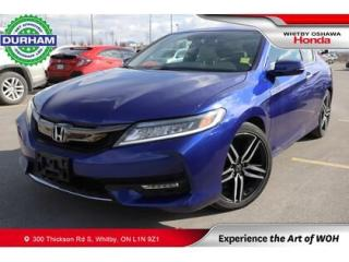 Used 2017 Honda Accord w/Navigation and Honda Sensing for sale in Whitby, ON