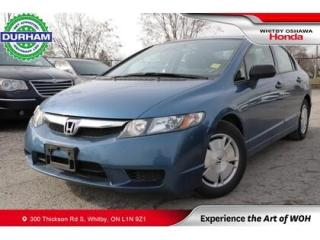 Used 2010 Honda Civic 4dr Auto DX-G for sale in Whitby, ON