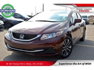 Used 2015 Honda Civic EX | CVT | Heated Front Seats for sale in Whitby, ON
