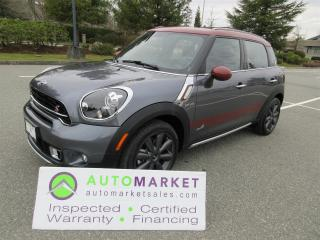 Used 2016 MINI Cooper Countryman S, ALL4, 2600km, PARK LANE EDITION, INSP, WARRANTY, FINANCING, BCAA, MEMBERSHIP for sale in Surrey, BC