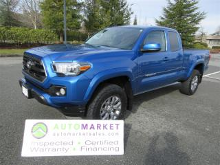 Used 2017 Toyota Tacoma SR5, V6, 4X4, AUTO, INSP, WARR, BCAA MEMBERSHIP for sale in Surrey, BC