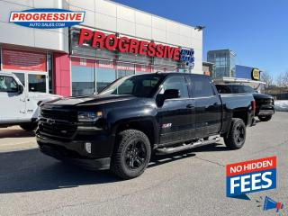 Used 2018 Chevrolet Silverado 1500 LEATHER/NAV/HEATED AND COOLED SEATS for sale in Sarnia, ON