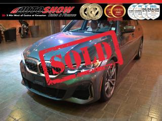 Used 2020 BMW 3 Series M340i xDrive - Pano Roof, Nav, HUD, H/K Stereo for sale in Winnipeg, MB