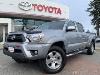 Used 2015 Toyota Tacoma 4x4 Dbl Cab V6 5A for sale in Surrey, BC