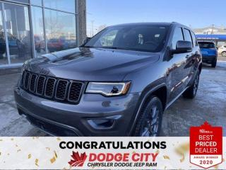 New 2021 Jeep Grand Cherokee 80th Anniversary Edition | 4X4 for sale in Saskatoon, SK