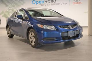 Used 2013 Honda Civic COUPE LX 5AT for sale in Richmond, BC