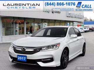 Used 2017 Honda Accord Sedan Sport!! BACKUP CAMERA!! HEATED SEATS!! for sale in Sudbury, ON