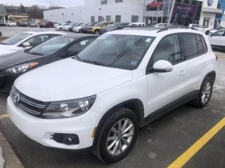 Used 2017 Volkswagen Tiguan 2.0T WOLFSBURG EDITION 4MOTION for sale in Dartmouth, NS