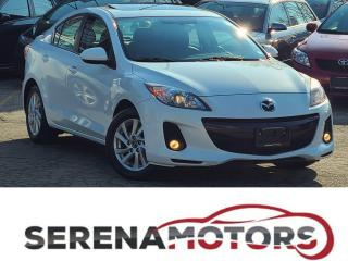 Used 2013 Mazda MAZDA3 SKYACTIV | GT |  MANUAL | FULLY LOADED | ONE OWNER for sale in Mississauga, ON