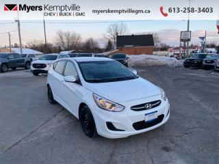 Used 2016 Hyundai Accent GL for sale in Kemptville, ON