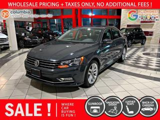 Used 2016 Volkswagen Passat Highline - Accident Free / Local / Nav / Sunroof for sale in Richmond, BC
