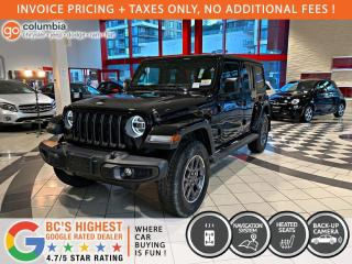 New 2021 Jeep Wrangler Sport 80th Anniversary for sale in Richmond, BC