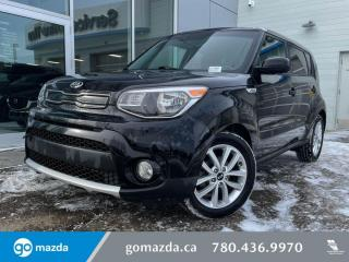 Used 2018 Kia Soul EX+ - BACK UP, HEATED SEATS, BLIND SPOT, GREAT VEHICLE for sale in Edmonton, AB