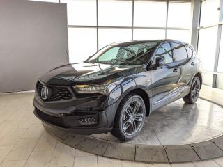 Used 2019 Acura RDX A-Spec for sale in Edmonton, AB