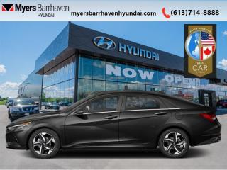New 2021 Hyundai Elantra Ultimate  Tech IVT  - Leather Seats for sale in Nepean, ON