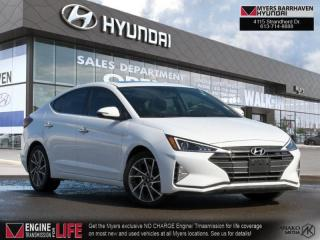 Used 2020 Hyundai Elantra Luxury  -  Sunroof for sale in Nepean, ON