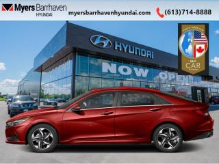 New 2021 Hyundai Elantra N-Line DCT  - Sunroof -  Heated Seats for sale in Nepean, ON